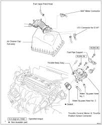 Toyota Highlander Service Manual: Throttle body ASSY (2AZ-FE ...
