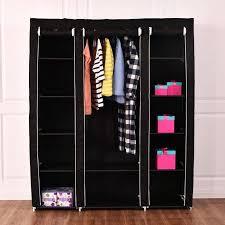 closet organizer installation aliyah w portable closet storage organizer clothes wardrobe shoe rack with shelves rubbermaid