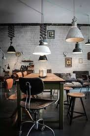 loft rotterdam industrial rock pendant lighting. Love This Industrial Office / Lounge Start-up - The Different Lights Really Give It Character! There\u0027s Lots Of From FSV That Loft Rotterdam Rock Pendant Lighting