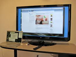 how to safely connect your tv with your desktop