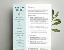 Etsy Resume Template Best Of Professional Resume Template And Cover Letter Template For