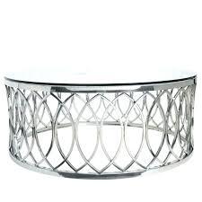 round chrome coffee table round chrome coffee table base