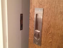 Emtek Pocket Door Mortise Lock Privacy   Door Knobs and Pocket Doors