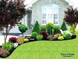 small front yard landscape ideas picture simple flower bed landscaping for yards bedrooms enchanting