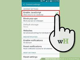 how to enable javascript 3 ways to enable javascript on an android phone