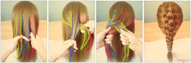 dutch braid hairstyles step by step
