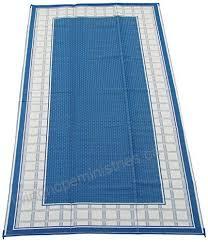 fireside patio mats country hearth blueberry and cream 9 feet x 18 feet polypropylene