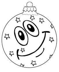 Kerstbal Smiley Kleurplaat Boże Narodzenie Kerstballen Smiley