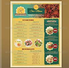 Free Menu Templates For Microsoft Word Awesome Restaurant Menu Template