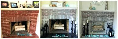 red brick fireplace fascinating red brick fireplace makeover ideas in room decorating ideas with red brick