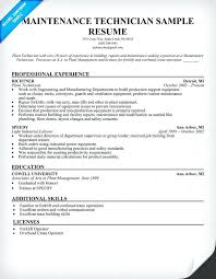 boiler maintenance engineer resume sample technician . electrical maintenance  technician resume ...