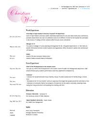 Resume Resume Examples Good Resumes Examples Good Resumes