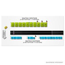Bandimere Speedway 2019 Seating Chart