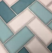 3D Chevron Tile Wallpaper Geometric ...