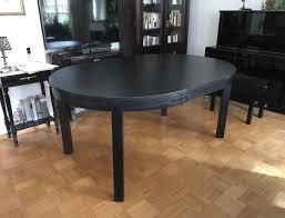 Ikea Esstisch Bjursta Modell Birkenfurnier M Within Tisch Rund