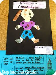 probably my favorite activity was making a self to text connection with our very own book cover i used the little people templates from the teacher wife
