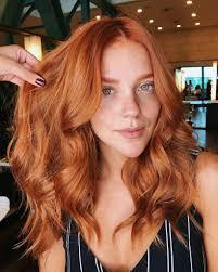 Light Copper Red Hair Gabi Lopes Ginger Hair Color Red Orange Hair Red Hair Trends