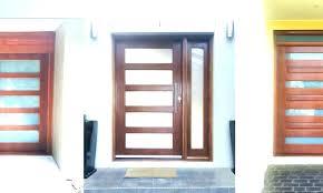 Mid Century Modern Front Doors Door Design Astonishing Modern Double