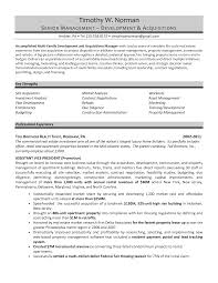 Awesome Real Estate Developer Resume Images - Simple resume Office .