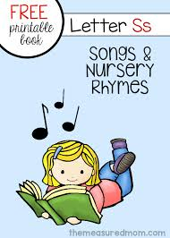 rhymes for letter s free letter book