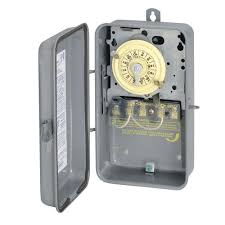 t104r 40 amp 208 277 volt dpst 24 hour mechanical time switch with outdoor