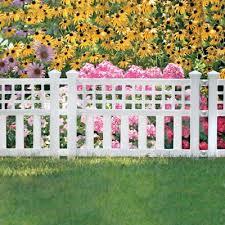 garden edging fence. Garden Border Fence (Three 24 In. Sections) Edging