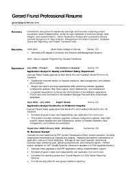 Permalink to Virginia Tech Resume Samples