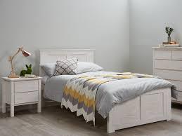 whitewashed bedroom furniture. Rustic Whitewash King Single Size Bed Frame Modern Timber Kids Beds Childrens Bedroom Furniture; Whitewashed Furniture L