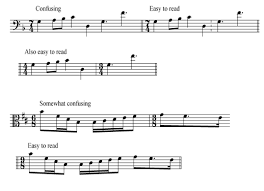 We've missed you after this long set break! Music Notation Style Guide Composition Department