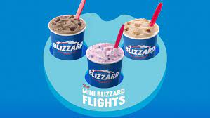 And dairy queen has been serving loyal customers for over 75 years, so they know what they're doing. Dairy Queen S Mini Blizzard Treat Flights For May 2019 Are A Tasty Way To Try New Flavors