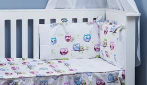 the complete baby package cot bed 19 pieces set little owls collection vizaro