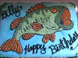 8 Best Birthday Cakes Images On Birthday Cakes Birthday Fish Cake