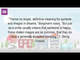 definitive meaning. what does it mean to dream? definitive meaning