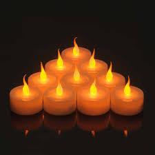 Smart Candle Value Amber Led Tea Light Pack 10 Sc9682 10