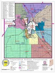 corporation map  tippecanoe school corporation