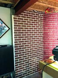 basement wall covering painting poured concrete walls ideas unfinished wooden b wall panel ideas garage covering