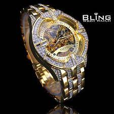 elgin wristwatches gold plated elgin mechanical men wrist watch