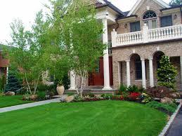 Decent Image Landscaping Ideas Plus Front Then A Ranch Style House  Landscaping Ideas Then Front As