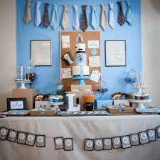Office theme ideas Celebration Popsugar Office First Birthday Ideas With Mustaches And Ties Popsugar Family