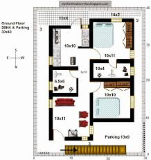 ground floor house plans 30x40 elegant 41 r34 2bhk in 30x40 north facing requested plan requirements