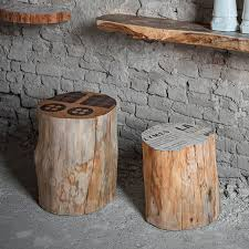 furniture made from tree stumps. view in gallery give your home a natural look with cool wooden stools furniture made from tree stumps