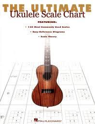Hal Leonard Ultimate Ukulele Scale Chart