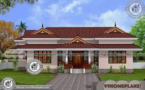 3 bedroom house plans kerala single