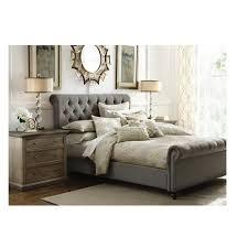 upholstered leather sleigh bed. Black Sleigh Bed Full Divan Beds Three Quarter King Size Frame Upholstered Leather I