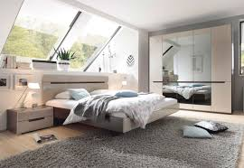 Schlafzimmer Komplett 4 Teilig Sonoma Eiche Dunkel Sand Grau