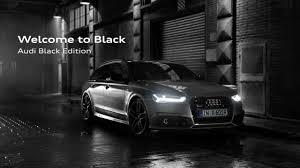 black audi. 2017 audi a6 avant black edition