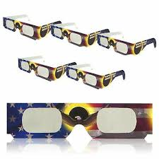 Solar <b>Eclipse</b> Glasses | ISO Certified | Safe for Direct Sun <b>Viewing</b> ...