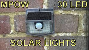Review - MPOW <b>30 LED Solar</b> Lights - A cheap and effective way to ...