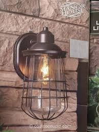 costco led outdoor lights togeteher with manor house vintage led coach light costco our picks source digsdigs соm
