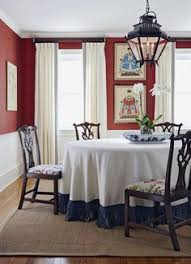 dining room chairs covered in zen toile linen here to see fabric